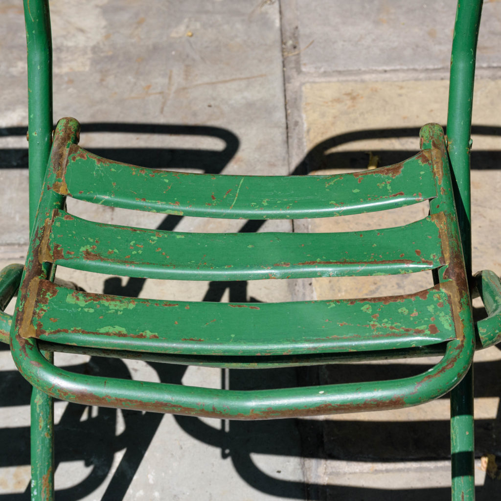 French folding cafe chairs,-106946