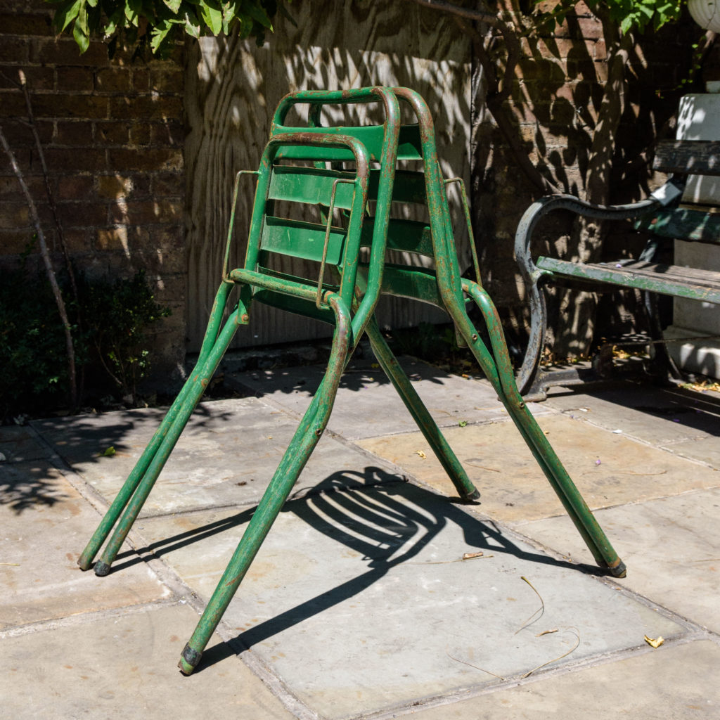 French folding cafe chairs,-106945