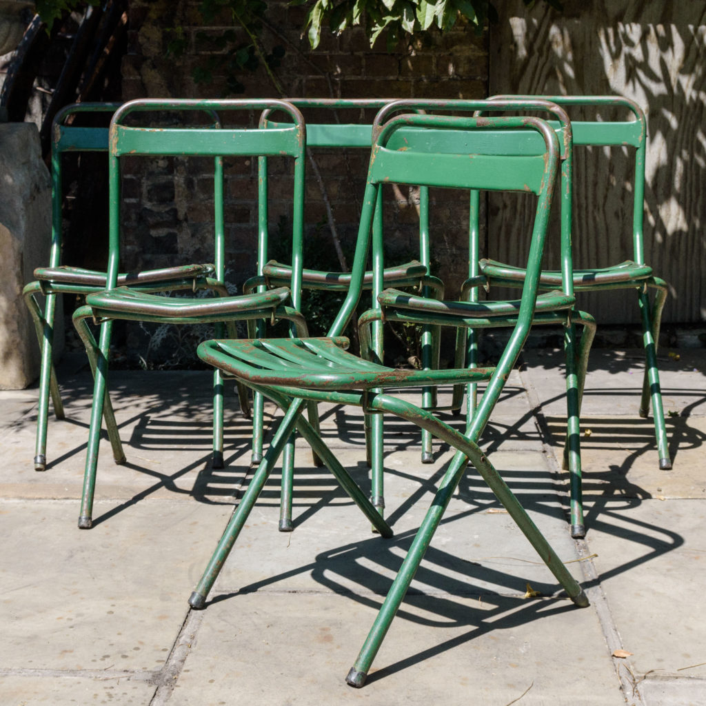 French folding cafe chairs,-106950