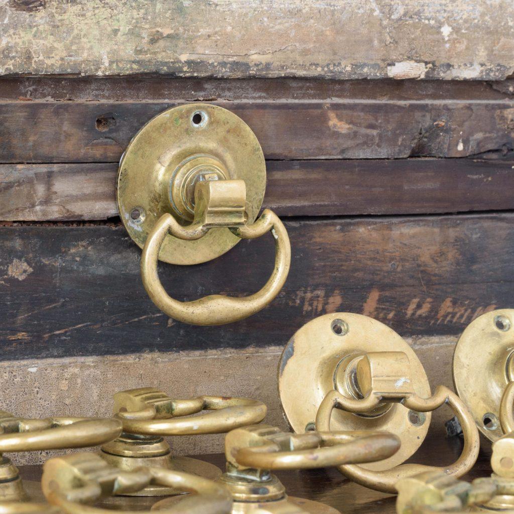 Georgian style brass door handles,-0