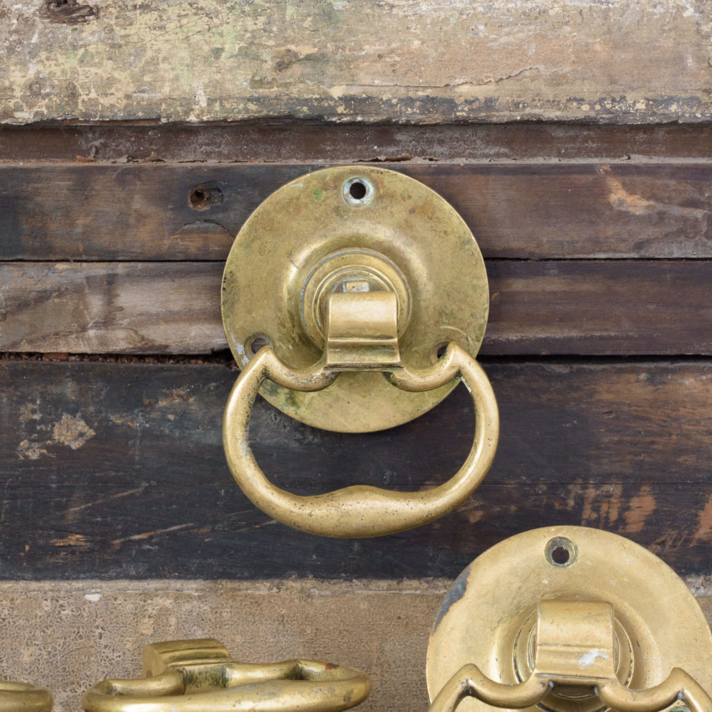 Georgian style brass door handles,-107763