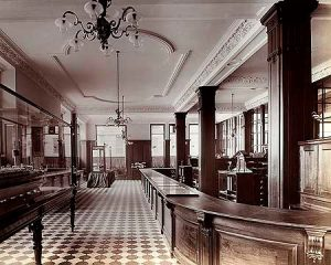 Interior of Oceanic House 1912 A.D.