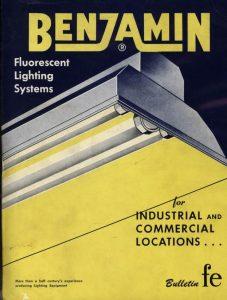 Benjamin early fluorescent lights