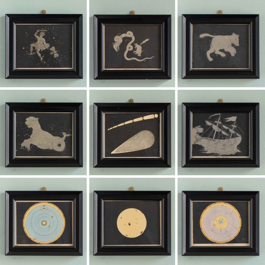 Original astronomy prints published 1843-107813
