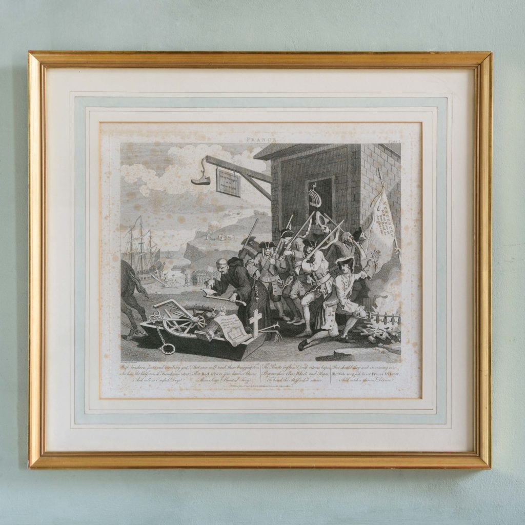 England and France, after William Hogarth published c1805-0