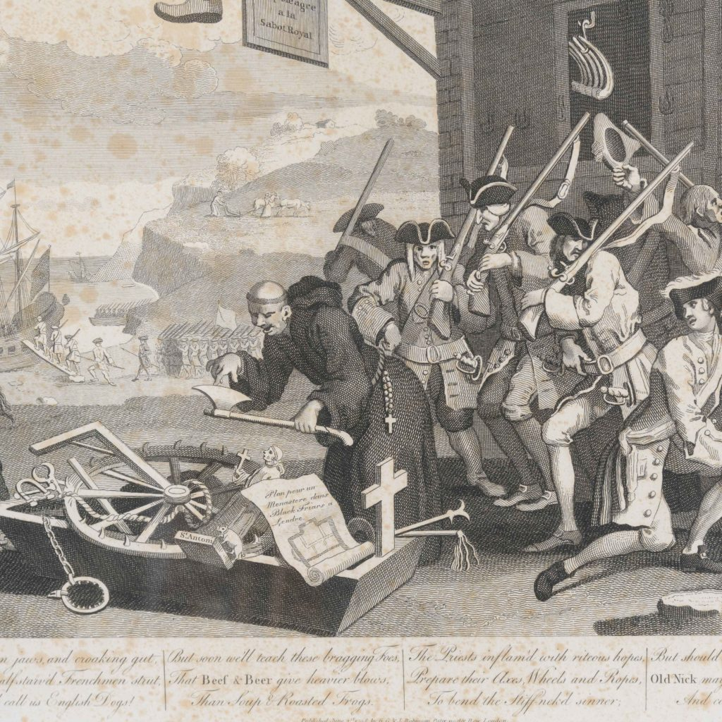 England and France, after William Hogarth published c1805-107913