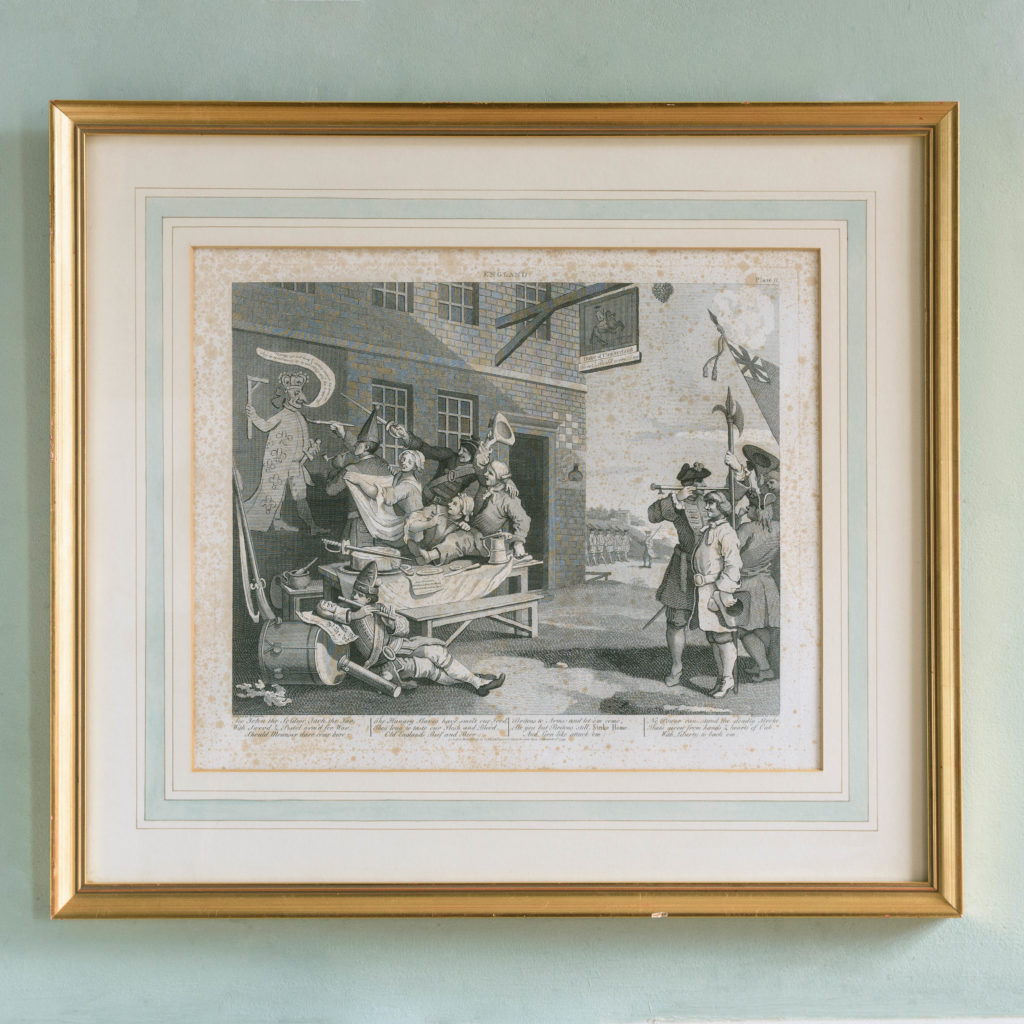 England and France, after William Hogarth published c1805-107918