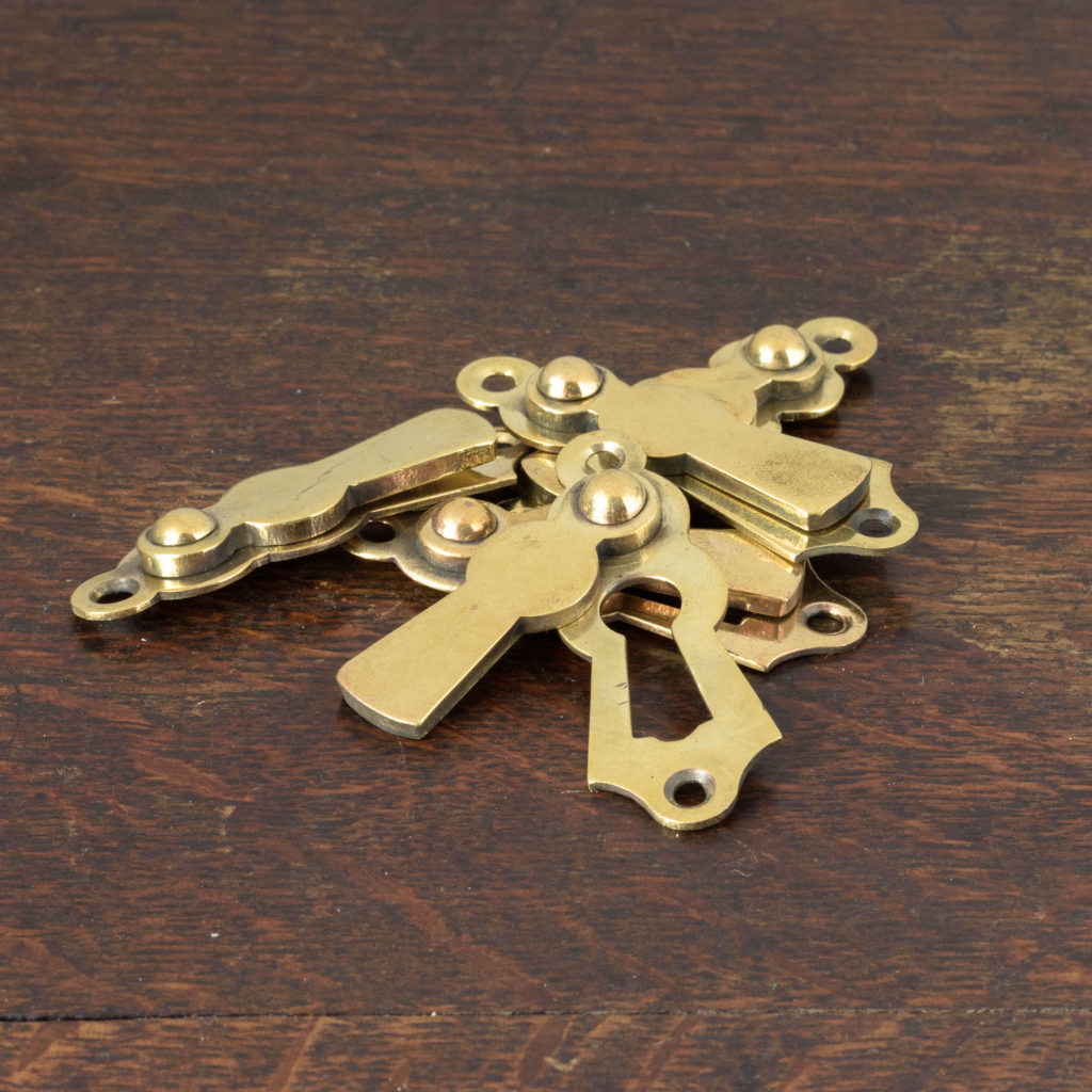 Late nineteenth century brass escutcheons,-108288