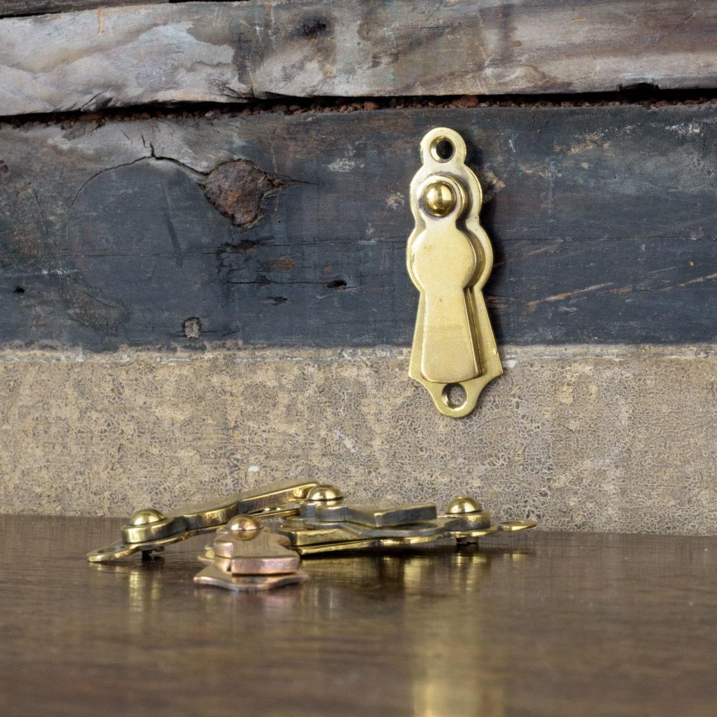 Late nineteenth century brass escutcheons,-108290