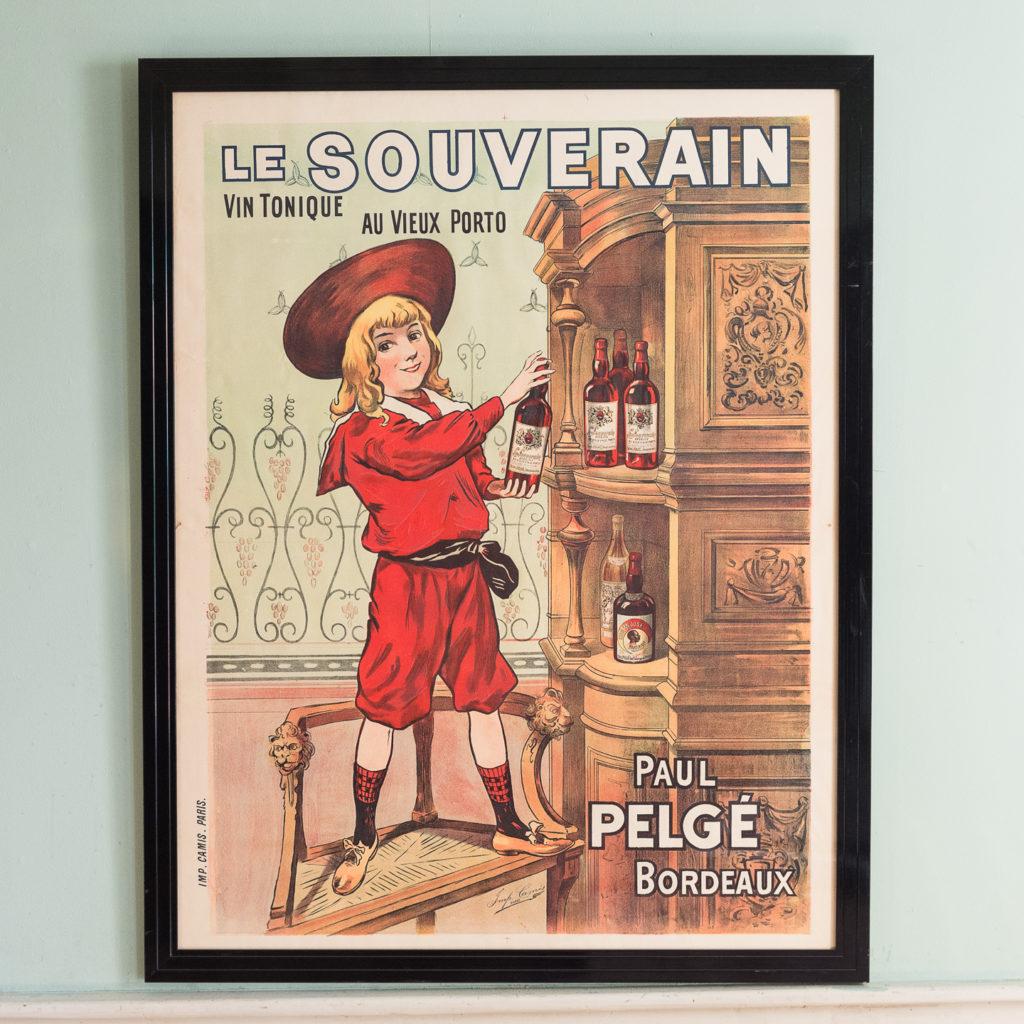 Le Souverain, original poster published circa 1895,-0