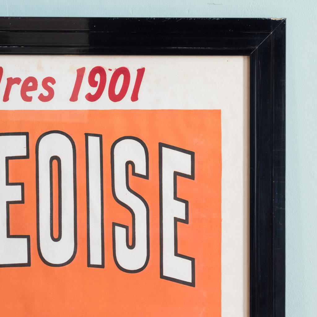 La Saintongeoise. Original poster published c1901-112535