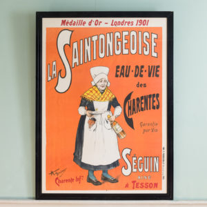 La Saintongeoise. Original poster published c1901-0