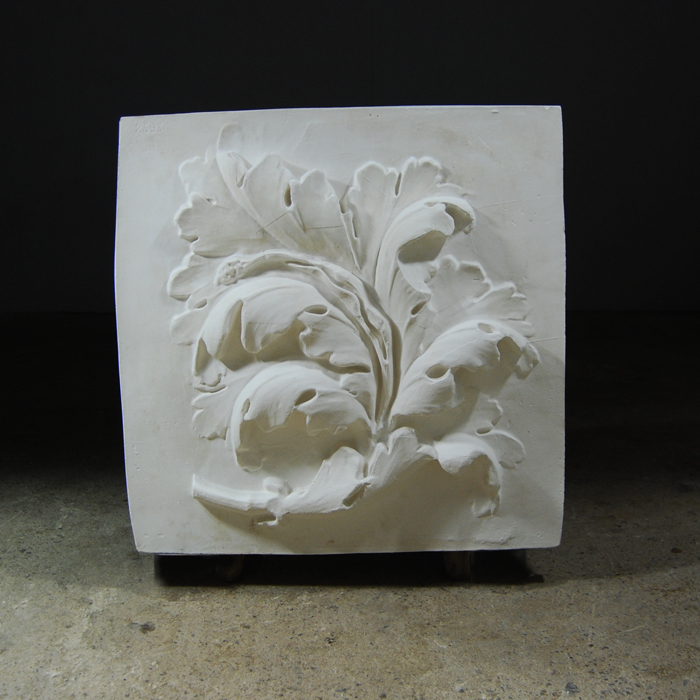 Acanthus relief plaque