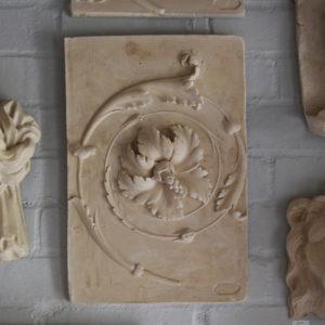 Plaster relief
