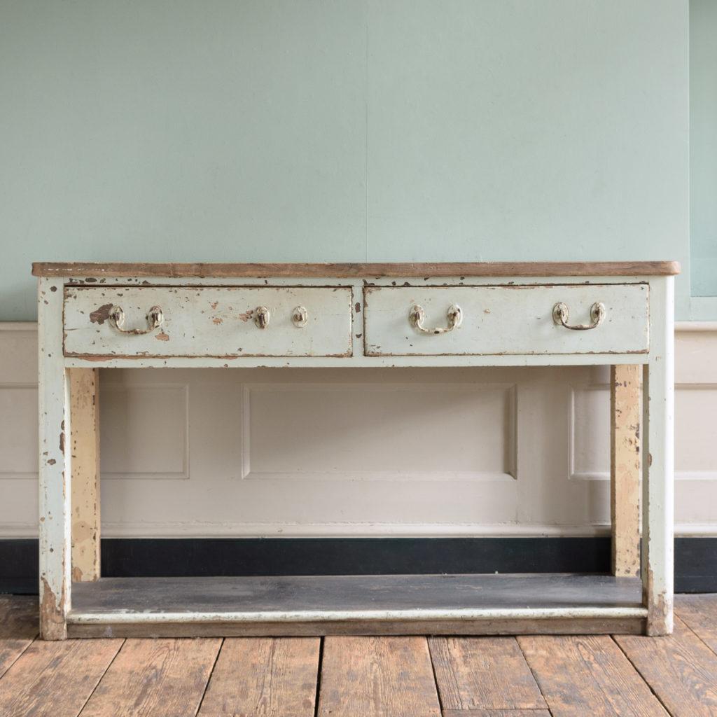 Nineteenth century potboard dresser,-0