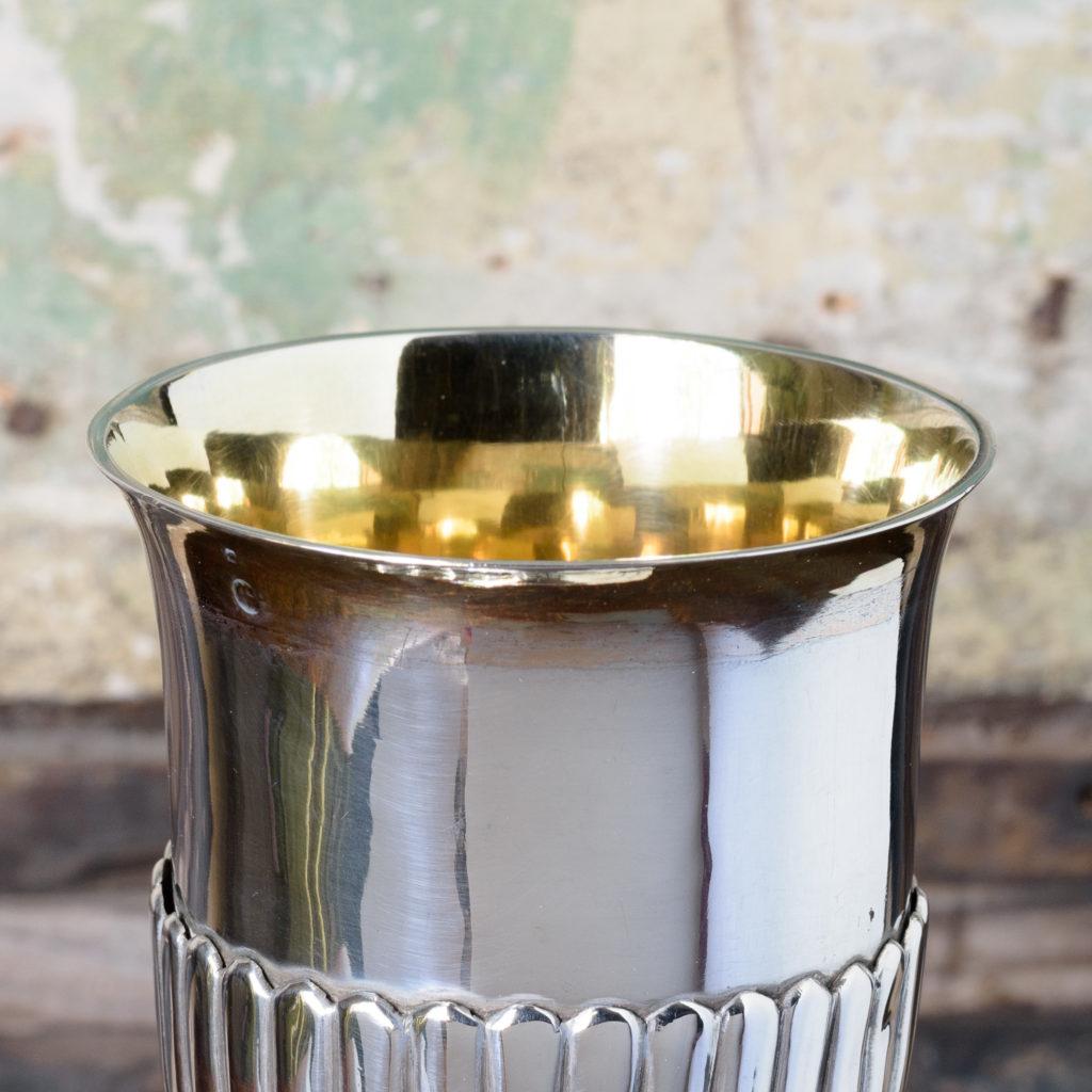 Silver communion chalice,-109584
