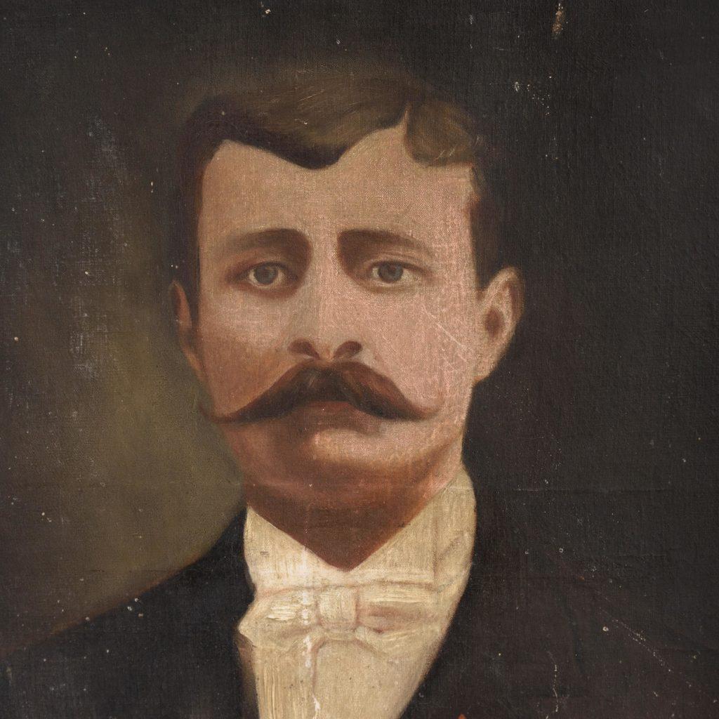 Portrait of a moustachioed gentleman-109634