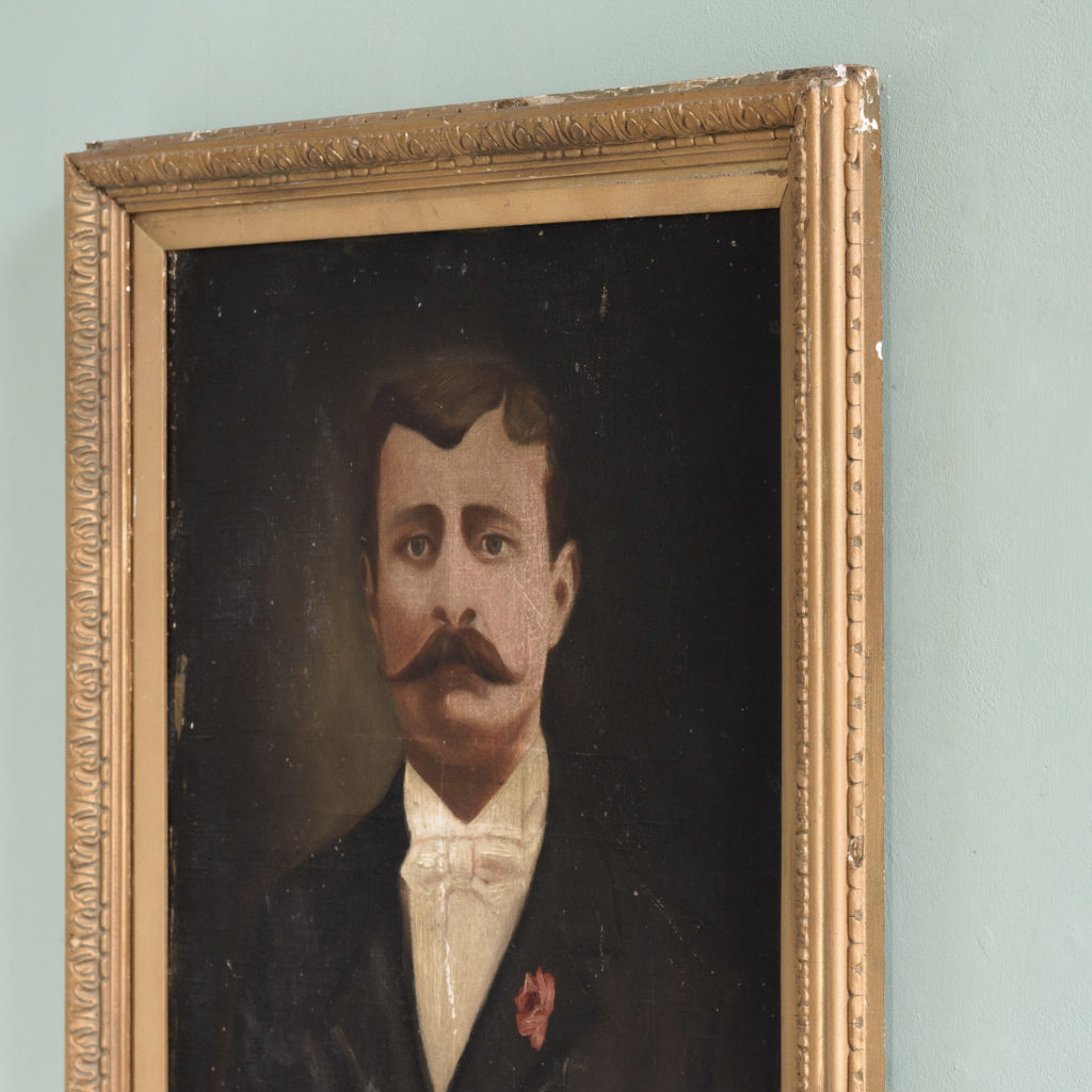 Portrait of a moustachioed gentleman-109633
