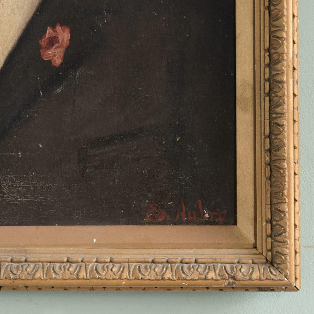 Portrait of a moustachioed gentleman-109636