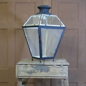 A painted copper street lantern-0