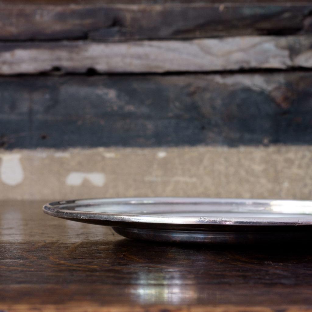 Silverplated communion dish,-109926