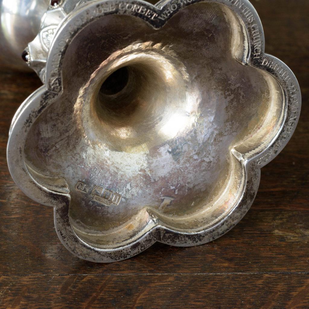 Silver communion chalice,-109995