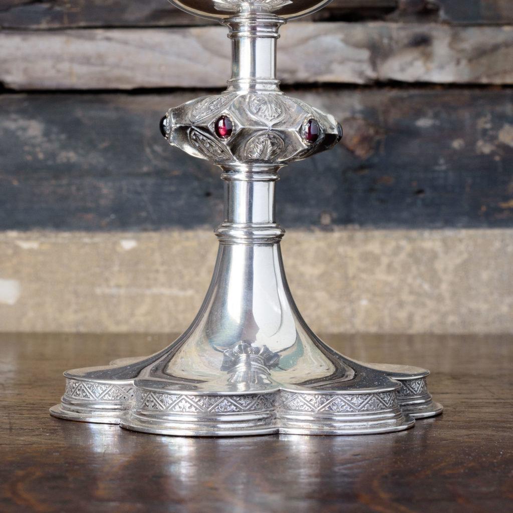 Silver communion chalice,-109996