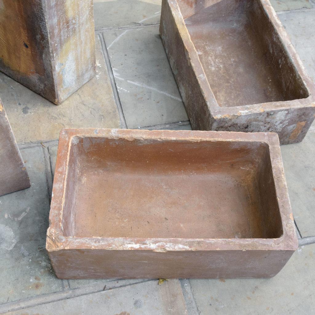 Salt glazed farm building water troughs,-109969