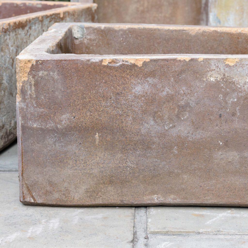 Salt glazed farm building water troughs,-109980