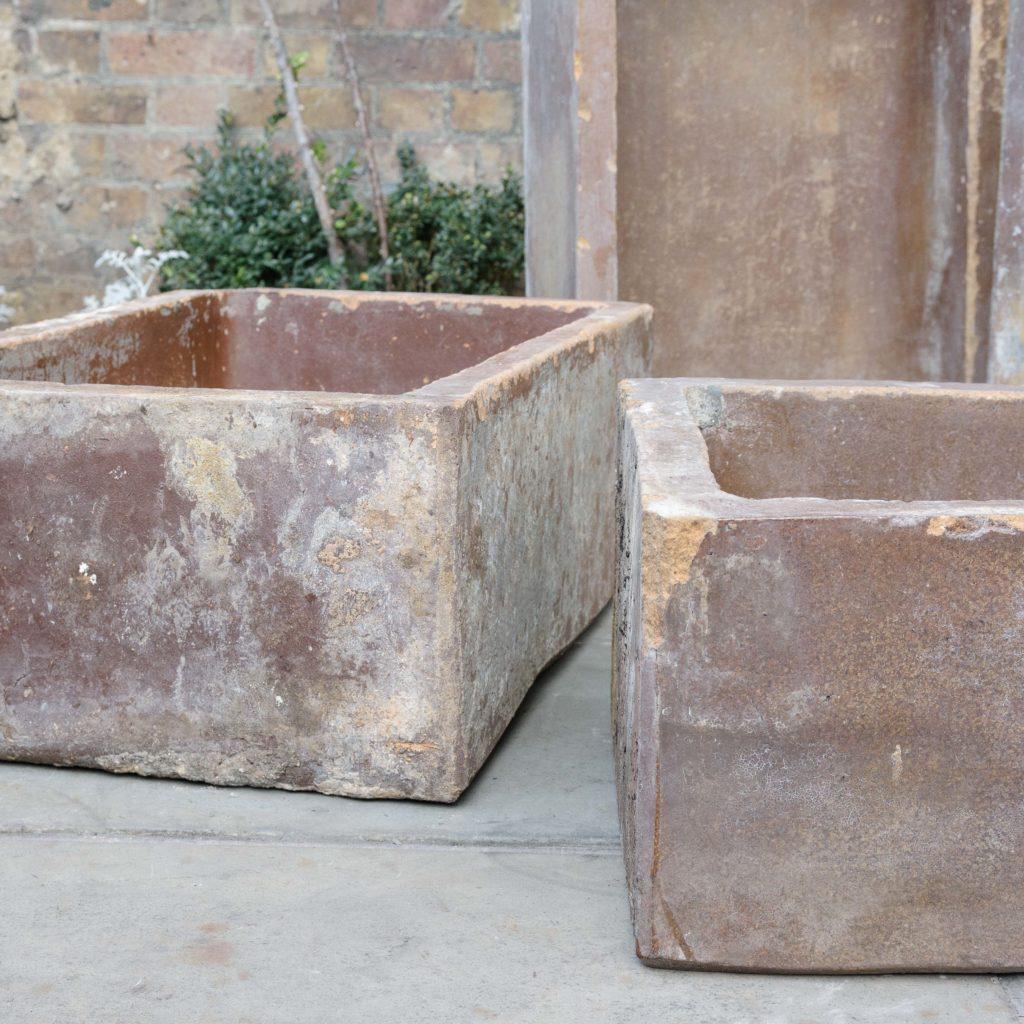 Salt glazed farm building water troughs,-109975