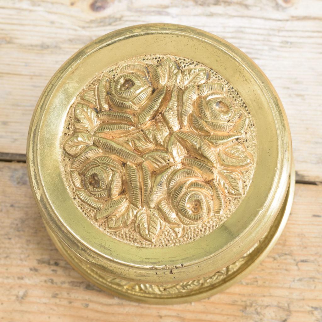 Brass door bosses,-110563