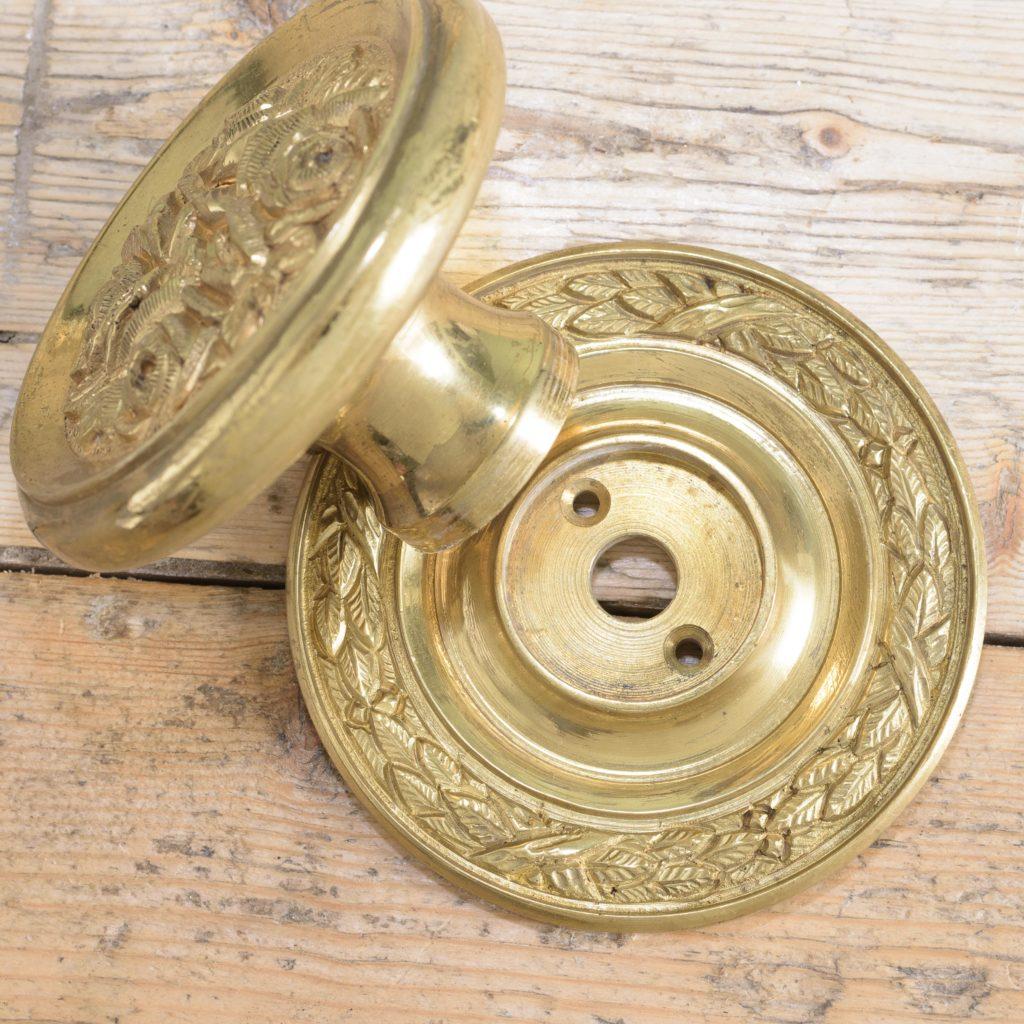 Brass door bosses,-110564