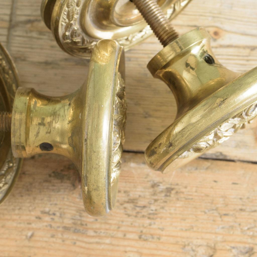 Brass door bosses,-110568