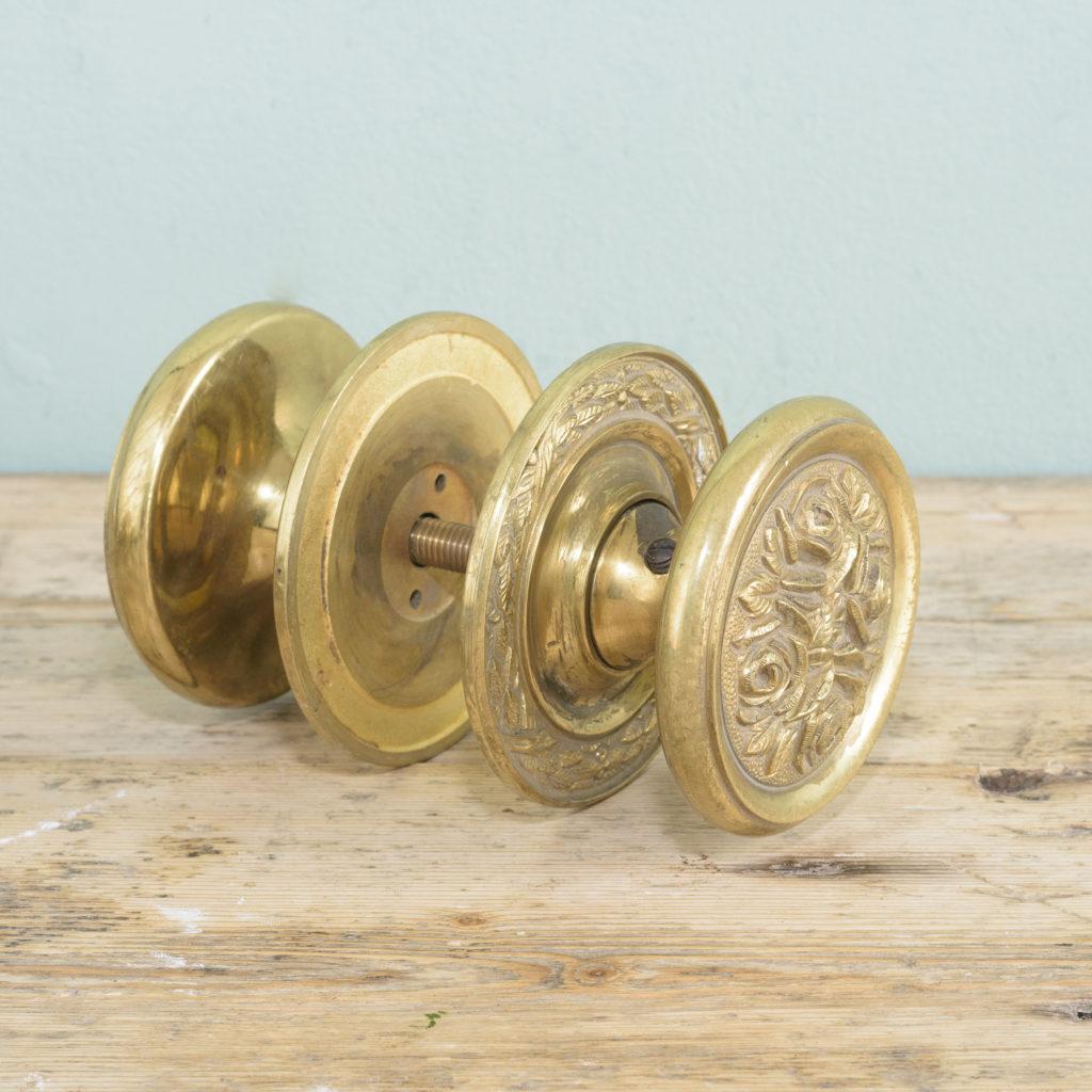 Brass door bosses,-110567