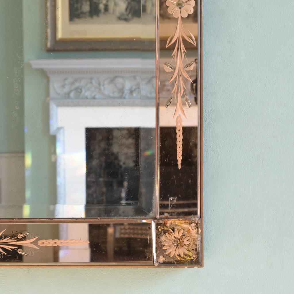 Italian 1930s two-tone mirror,-110077