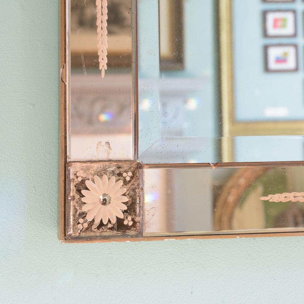 Italian 1930s two-tone mirror,-110073