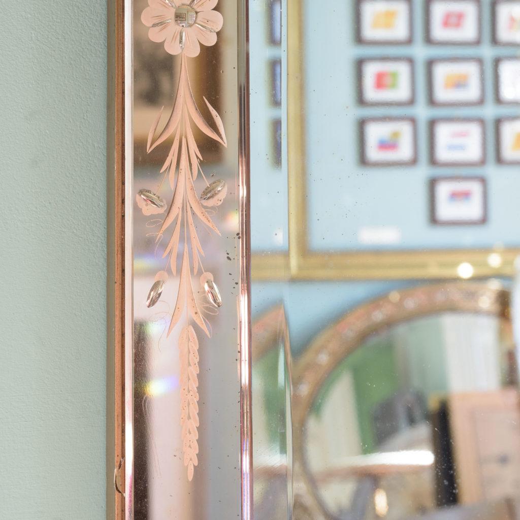 Italian 1930s two-tone mirror,-110079