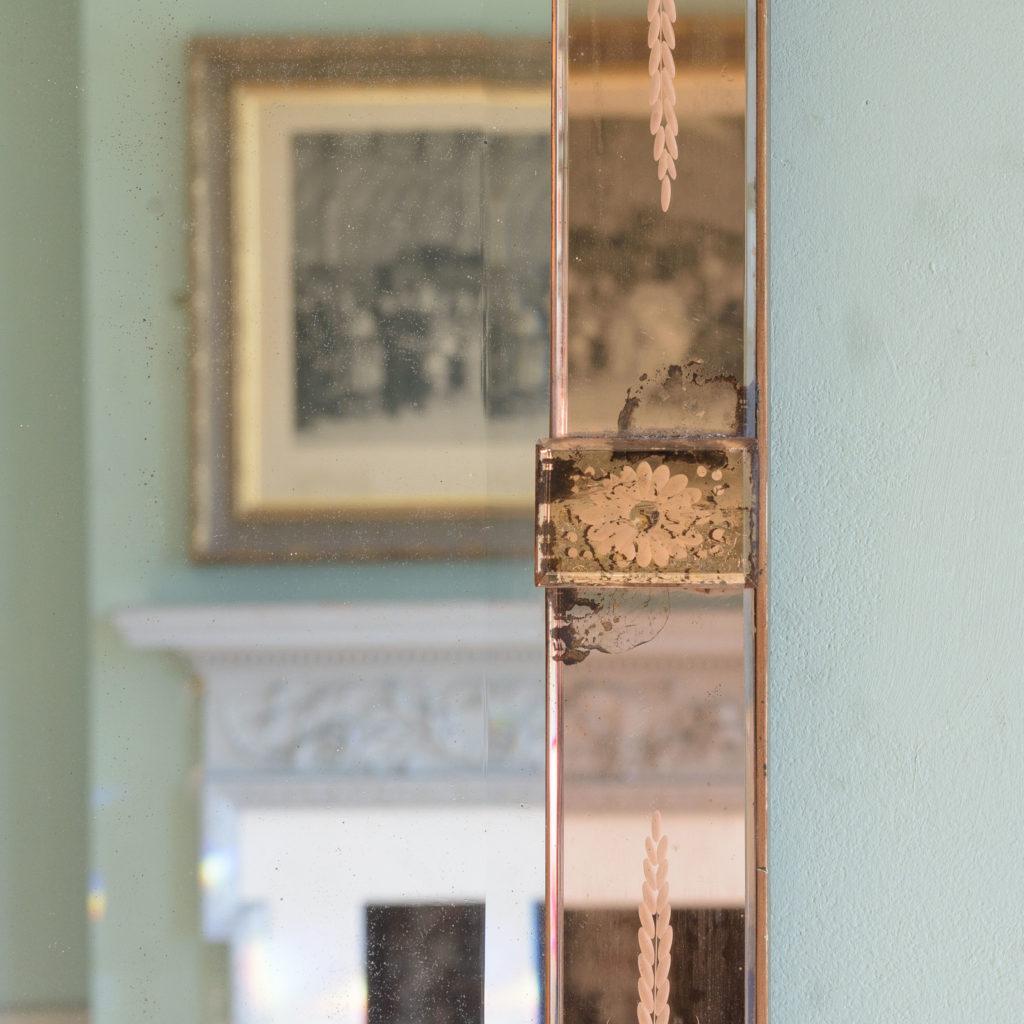 Italian 1930s two-tone mirror,-110074