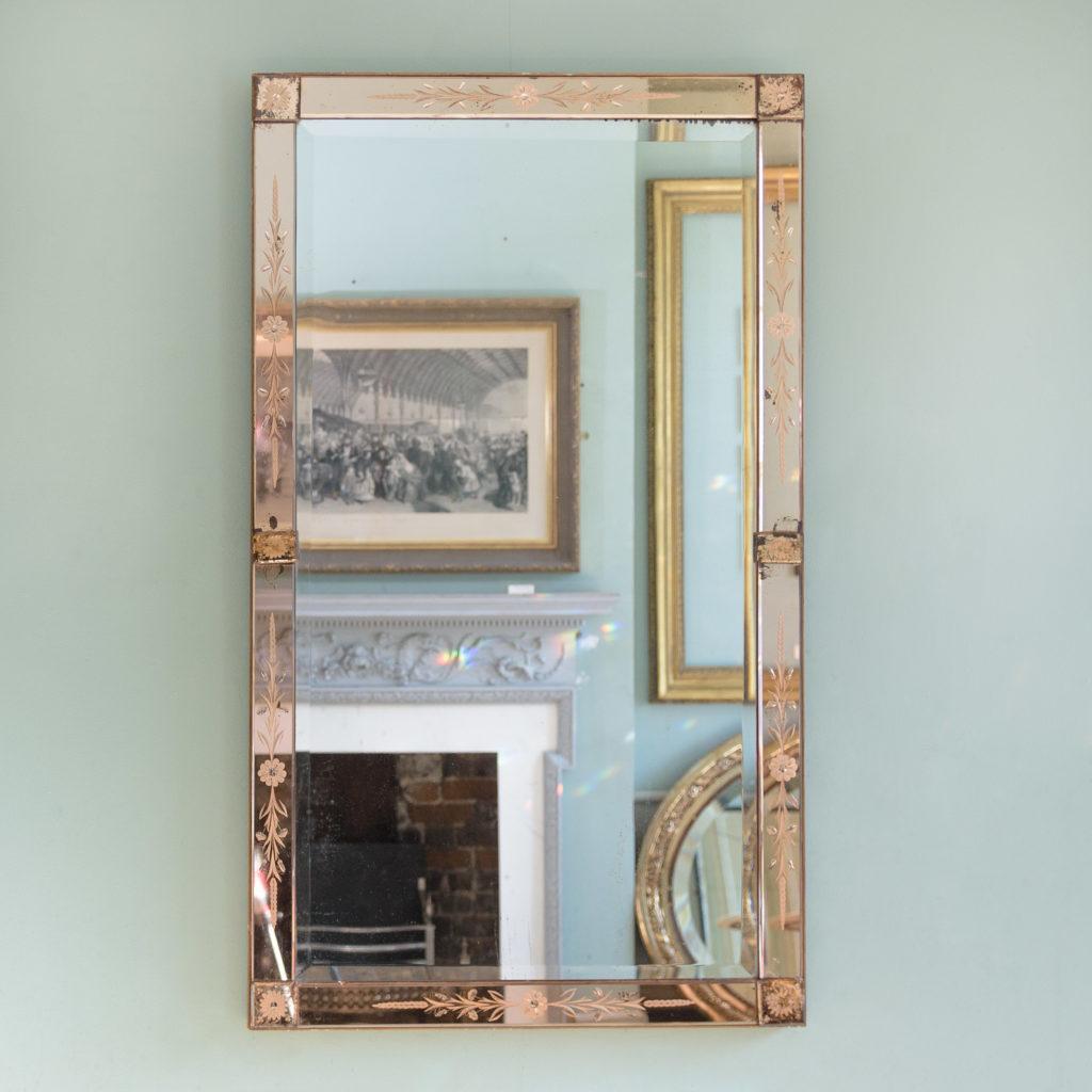 Italian 1930s two-tone mirror,-0