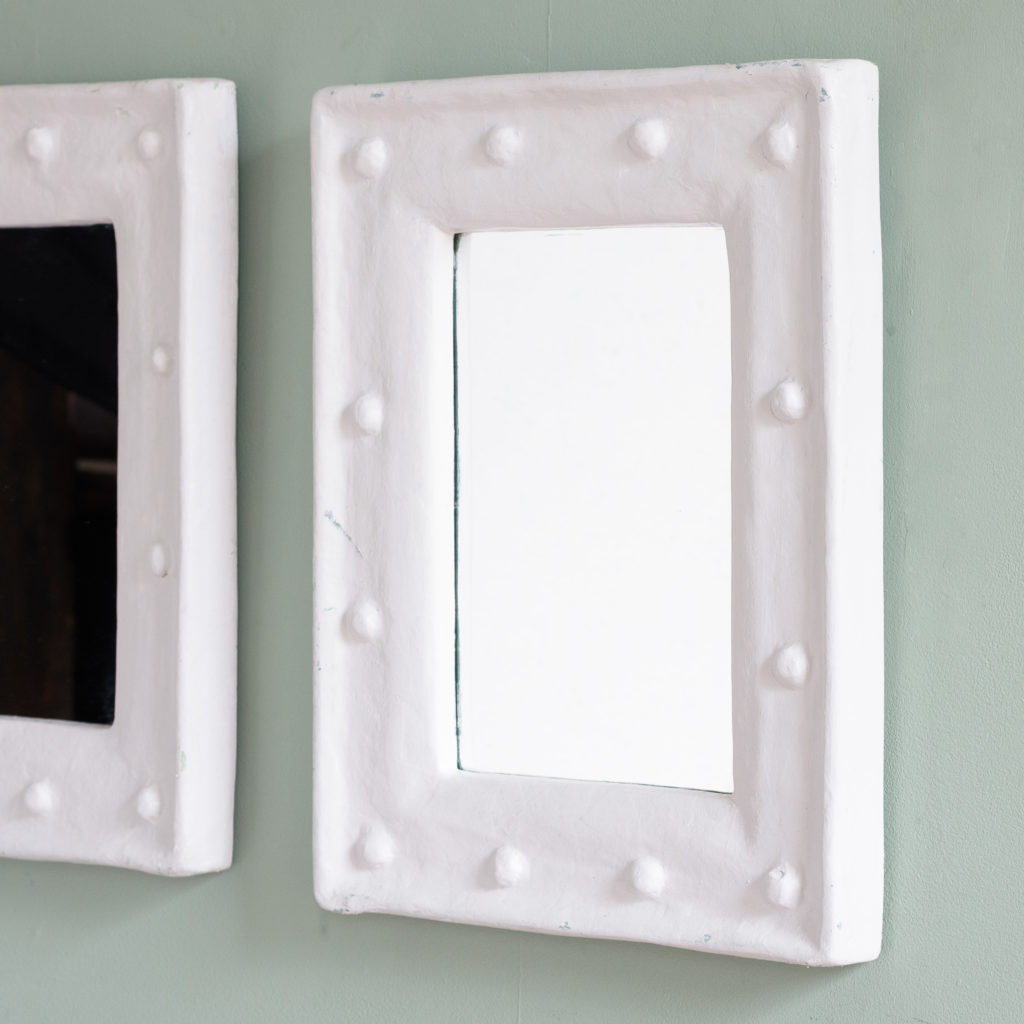 Pair of French 1980s mirrors,-109950