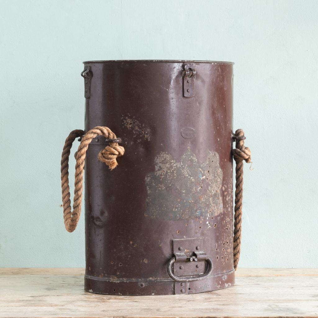 First World War shell carrying case,-0