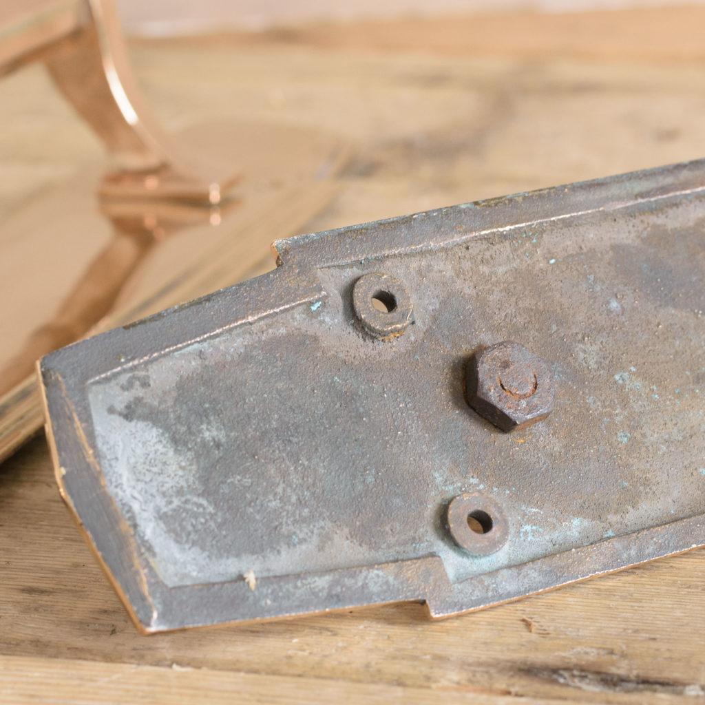 An Art Deco door pull,-110733