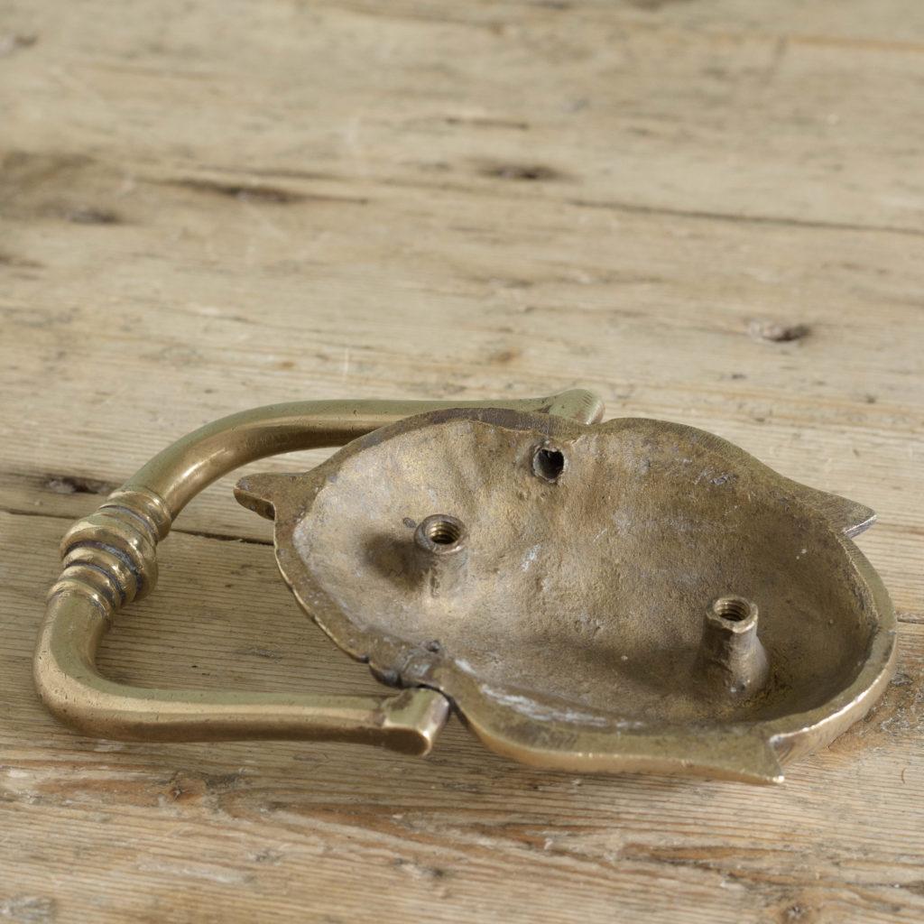 Brass door knocker,-110758