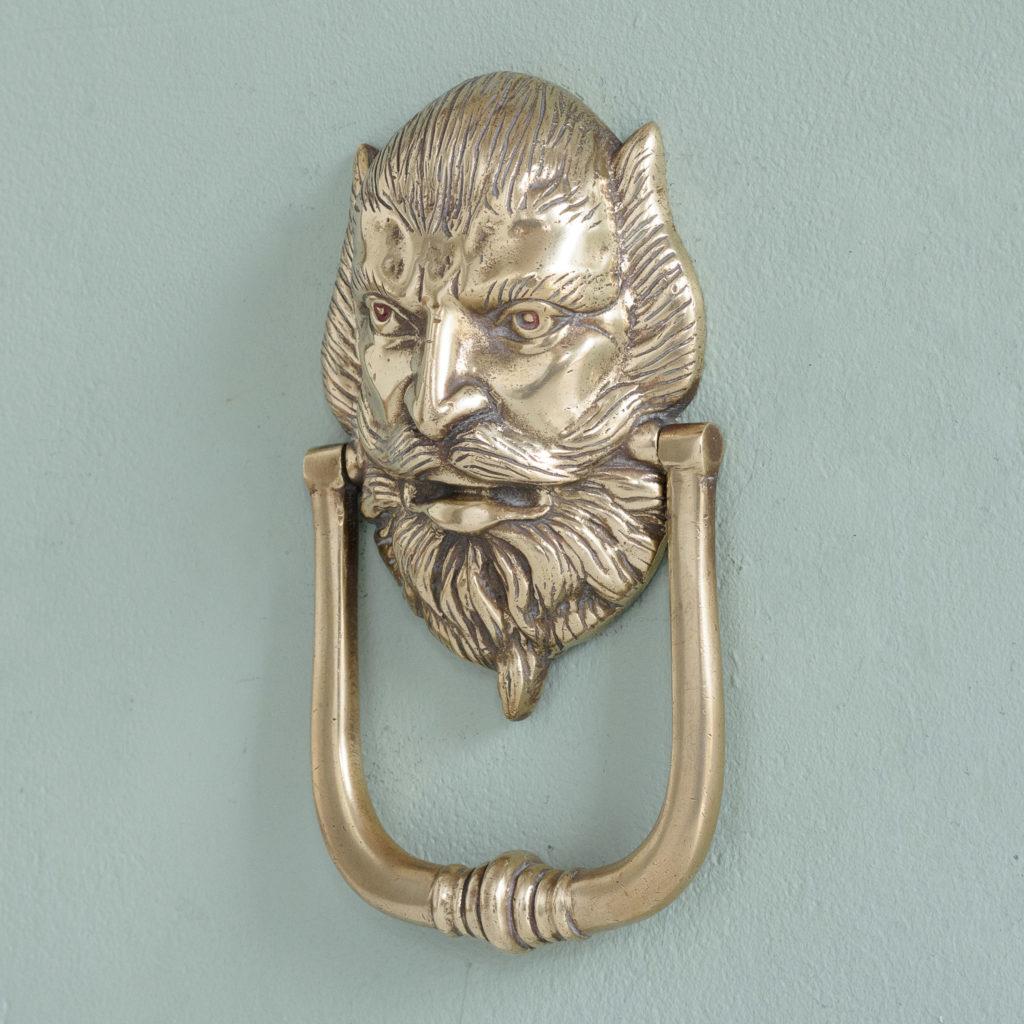Brass door knocker,-110760