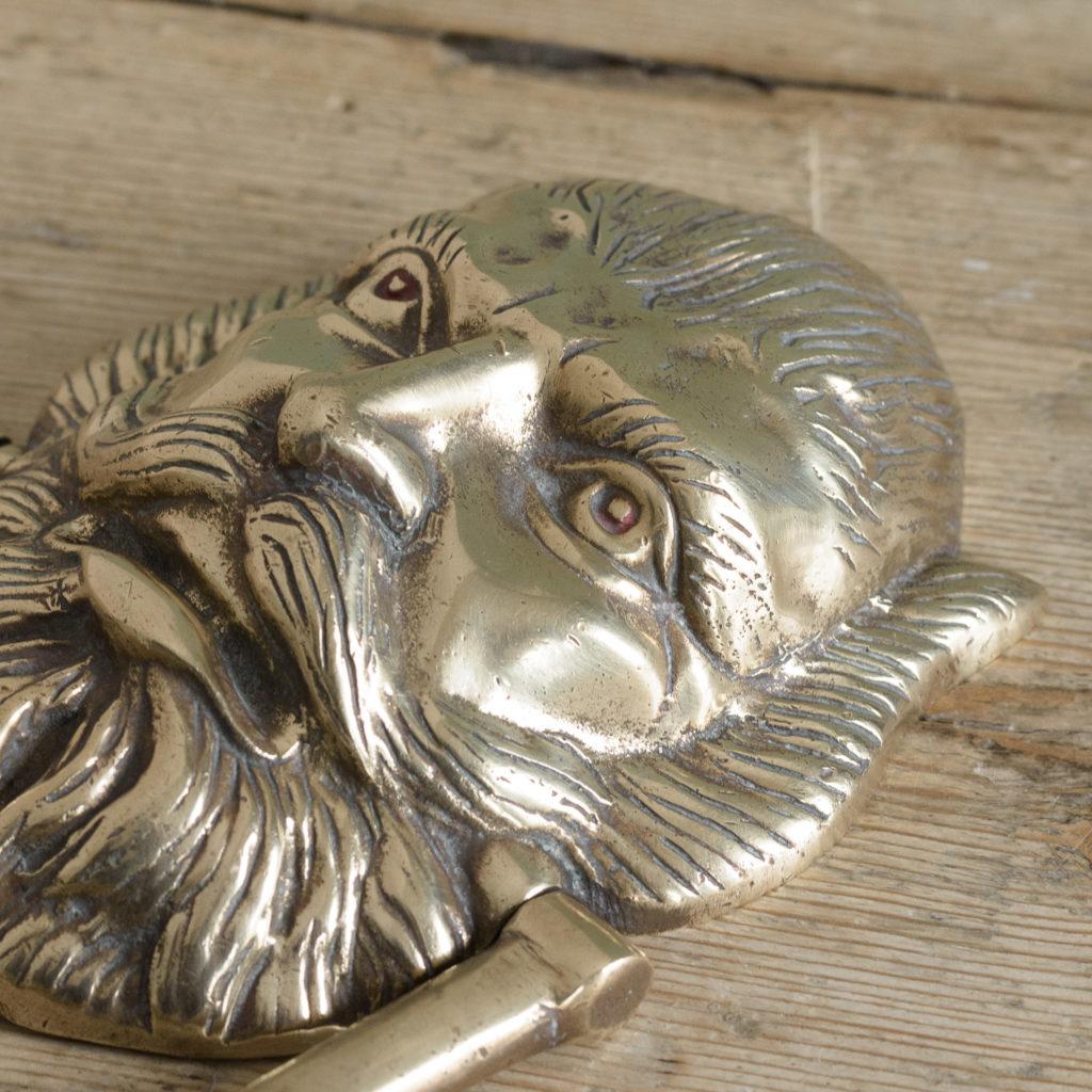 Brass door knocker,-110759