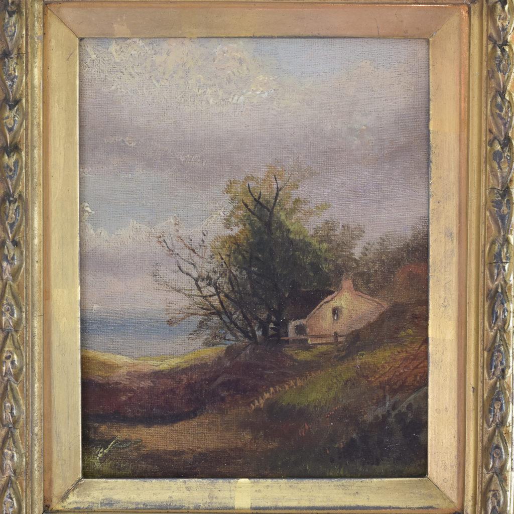 Nineteenth century pastoral scene,-111303