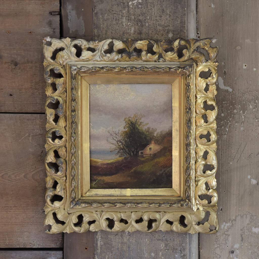 Nineteenth century pastoral scene,-0