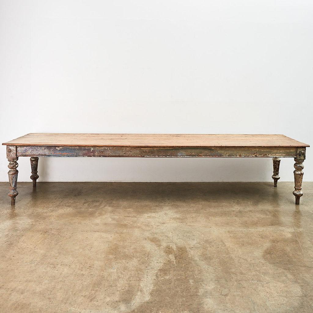 Victorian farmhouse table,-0