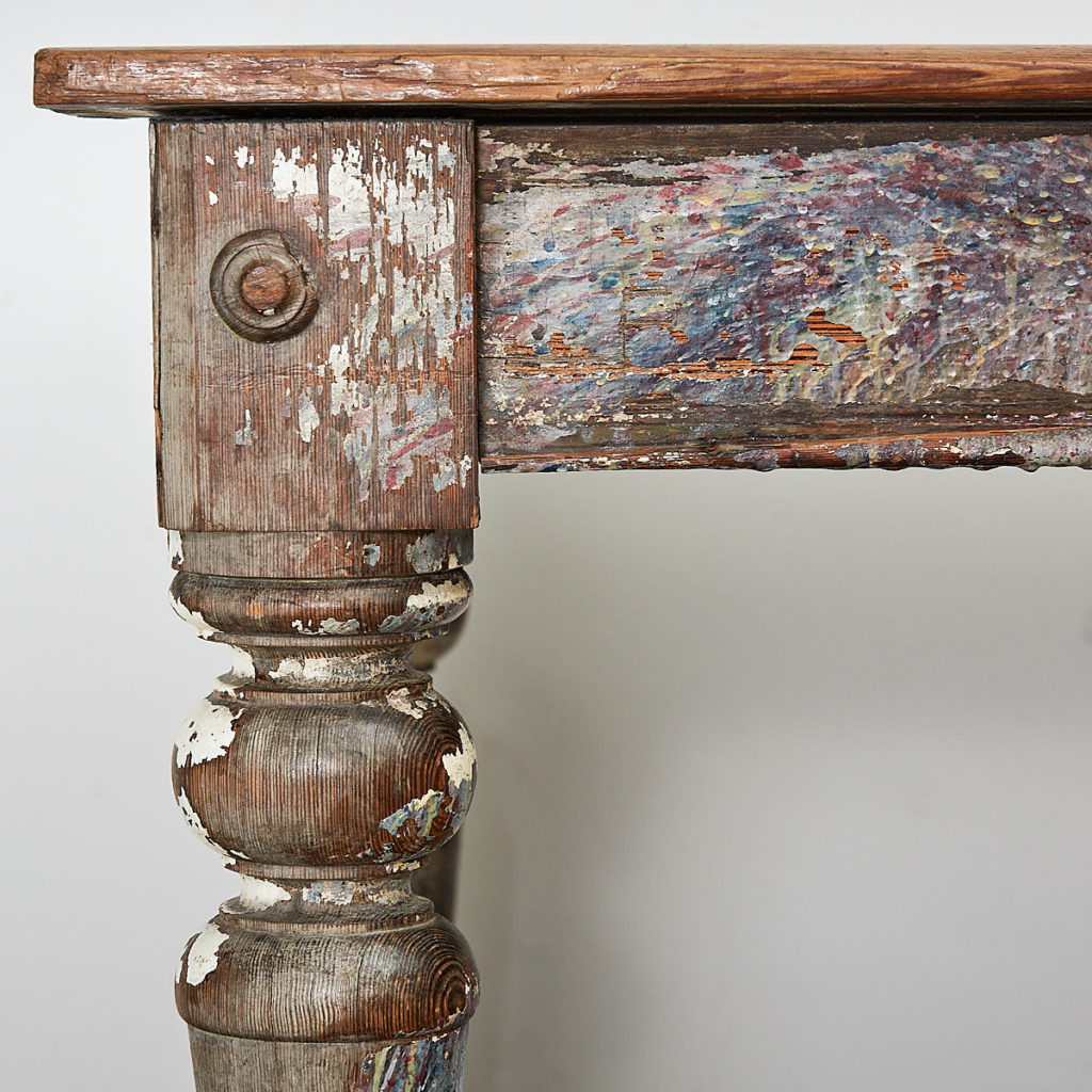Victorian farmhouse table,-111653