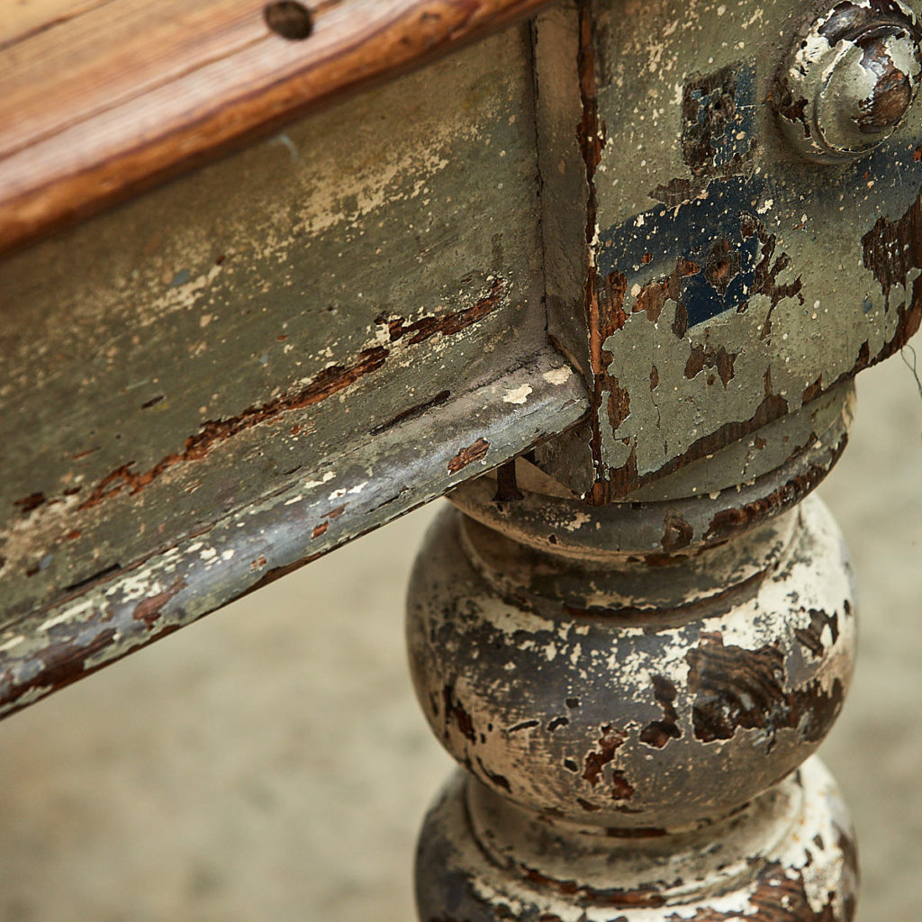Victorian farmhouse table,-111659